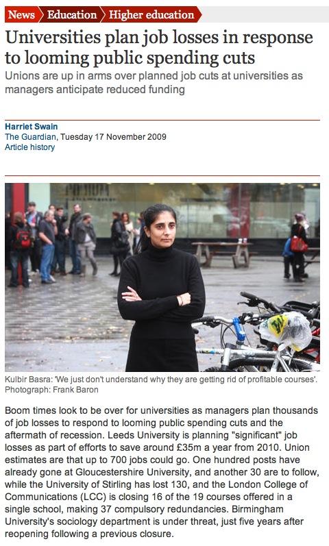 Guardian article 17 November