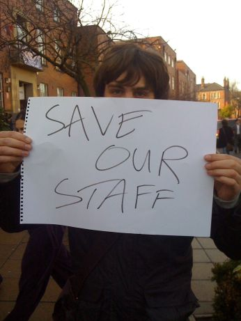 Students support UCU