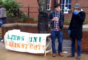 Leeds Uni against the cuts