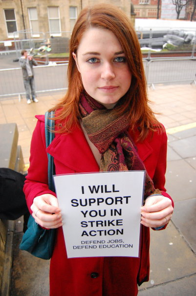 University of Leeds student supports dispute