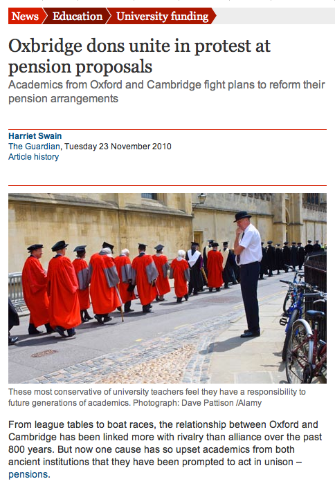 University of Leeds fails to emulate Oxford & Cambridge on USS
