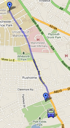 March route 29 January
