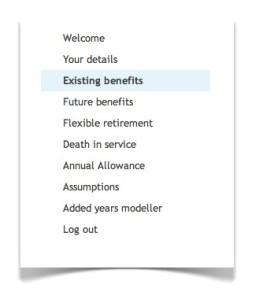 existing benefits