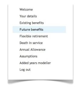 future benefits